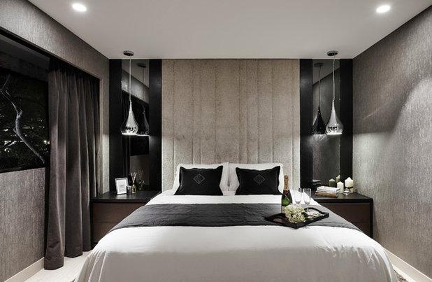 Contemporary Bedroom by akiHAUS Design Studio