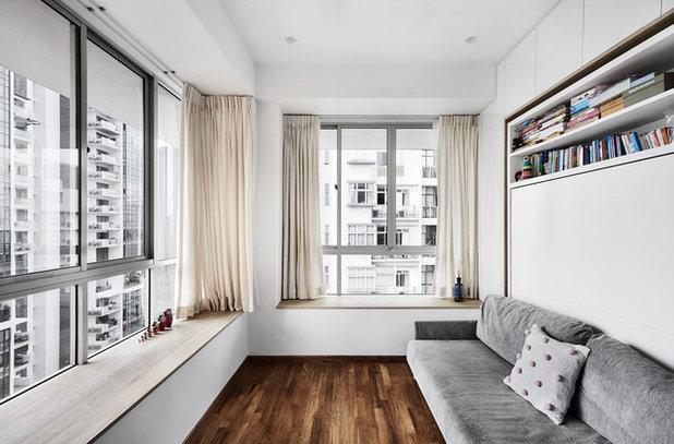 Modern Bedroom by akiHAUS Design Studio