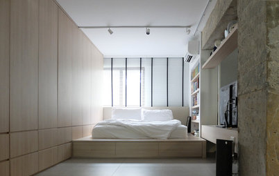 Room Tour: Raw Openness Defines This Bedroom