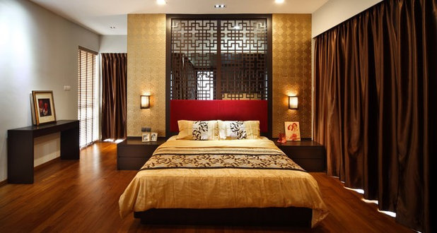 Asian Bedroom by The Interior Place (S) Pte Ltd