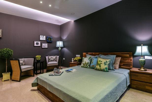 Scandinavian Bedroom by Aum Architects