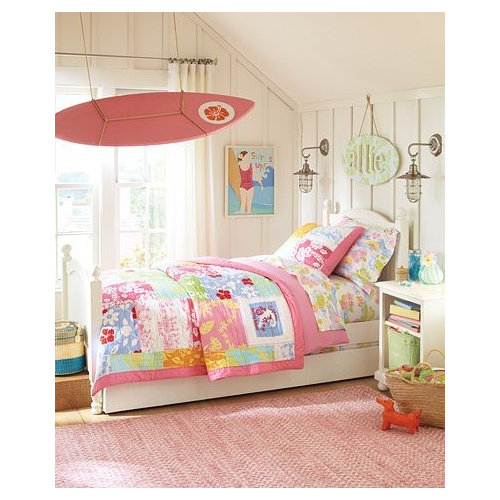 Interior Bedroom Themes For Girls girls bedroom themes houzz island style photo in other