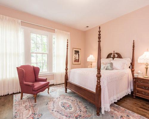 Pareti Rosa Camera Da Letto : Camera da letto con pareti rosa birmingham foto e idee per arredare