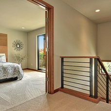 Contemporary Bedroom by H2 View