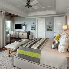 Tropical Bedroom by Kukk Architecture & Design P.A.