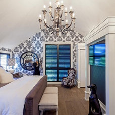 Eclectic Bedroom by Peter A. Sellar - Architectural Photographer