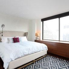 Contemporary Bedroom by Caroline Bass Citi Habitats