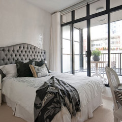 contemporary bedroom by The Cross Design