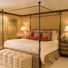 Mediterranean Bedroom by Tiffany Farha Design