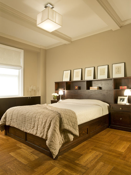 Parquet Floor Bedroom Ideas And Photos   Houzz
