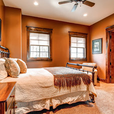 Traditional Bedroom by Pinnacle Mountain Homes