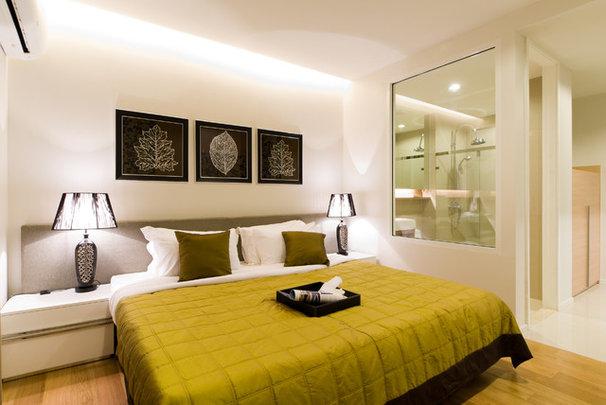 Contemporary Bedroom by Nitsumon Dummananda