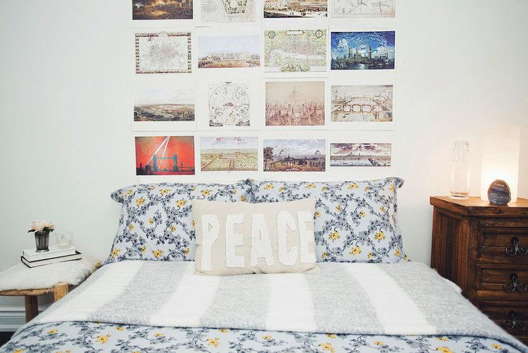 Фьюжн Спальня by Lindsay McCormick Design