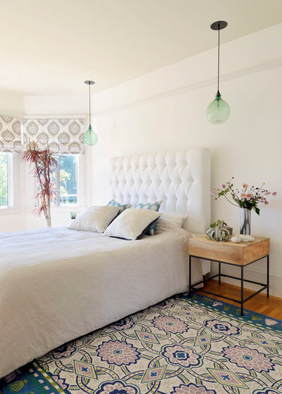 eclectic bedroom by mint home decor