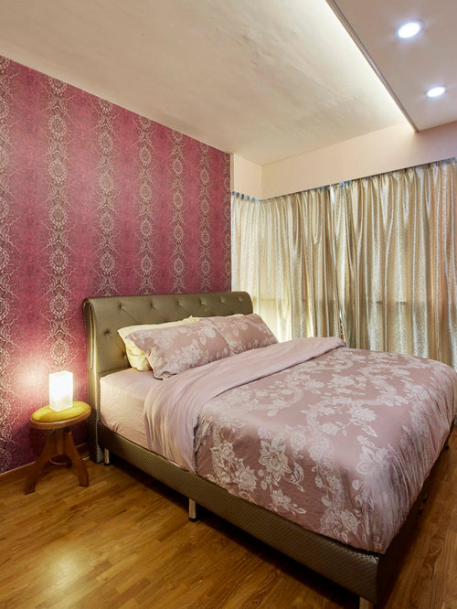 Red bedroom design ideas renovations photos with for Bedroom designs plywood