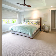 Bedroom by Mezger Homes