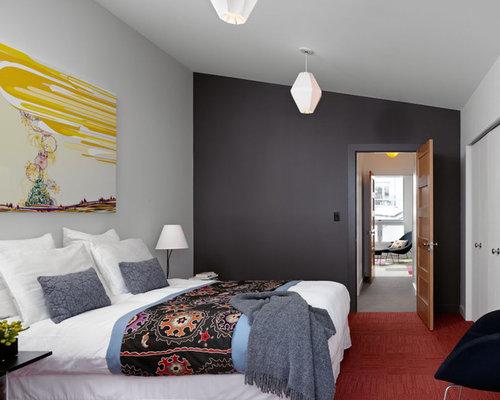 Brown And Grey Master Bedroom Houzz