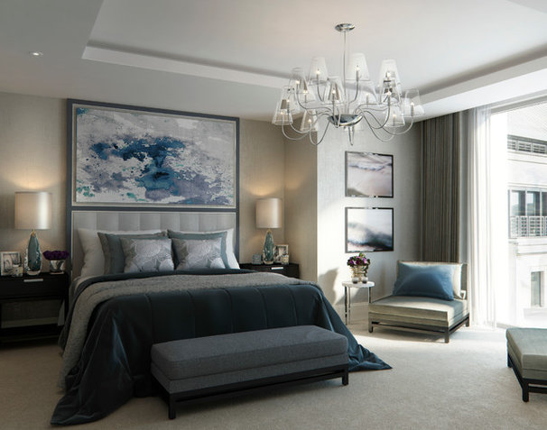 Contemporary Bedroom by CID Interieur