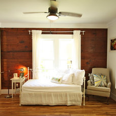 Traditional Bedroom 1920 Craftsman Rehab in Houston Heights Historic District