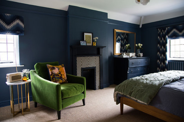 Transitional Bedroom by Smartstyle Interiors