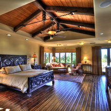 Mediterranean Bedroom by Jay Andre Construction, Inc.