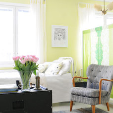 Eclectic Bedroom by Kootut murut