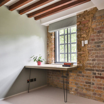 2 bedroom flat renovation in a converted river-side Wapping warehouse, Matt