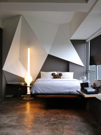 Contemporary Bedroom by the association