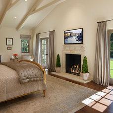 Mediterranean Bedroom by J. Grant Design Studio