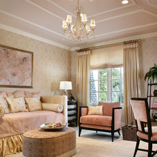 Traditional Bedroom by Diane Durocher Interiors