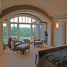 Contemporary Bedroom by Charles Cudd De Novo, LLC