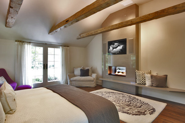 Contemporary Bedroom by Blansfield Builders, Inc.