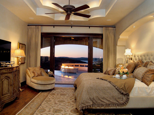 Mediterranean Bedroom by Design Visions of Austin