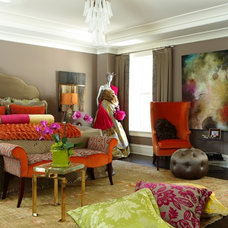 Contemporary Bedroom by Palmer Design Group, LLC