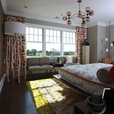 Midcentury Bedroom by Baltimore Design Group