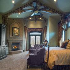Rustic Bedroom by Upland Development, Inc.
