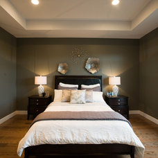 Transitional Bedroom by Dowalt Custom Homes Inc