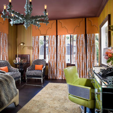 Eclectic Bedroom by Green Couch Interior Design