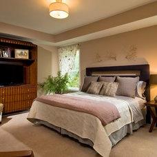 Contemporary Bedroom by Plum and Crimson Fine Interior Design