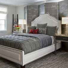 Contemporary Bedroom by Danziger Design LLC