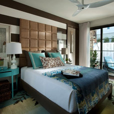 Transitional Bedroom by Kemp Hall Studio