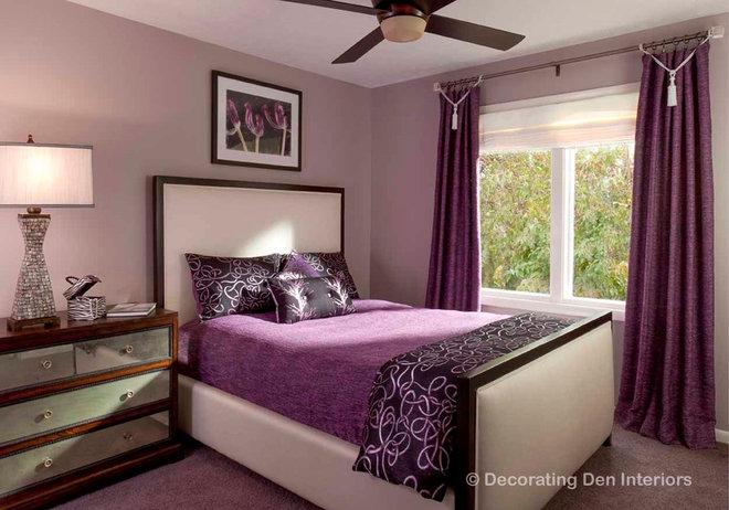Contemporary Bedroom by DECORATING DEN INTERIORS ValleyDesignTeam, NE Ohio
