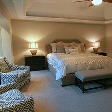 Traditional Bedroom by Charles Cudd De Novo, LLC