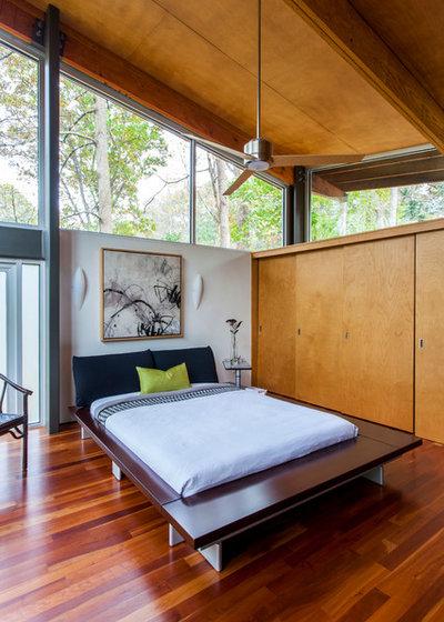 Contemporary Bedroom by Home Design & Decor Magazine