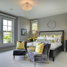 Transitional Bedroom by Carl M. Hansen Companies
