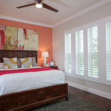 Farmhouse Bedroom by Keesee and Associates, Inc.