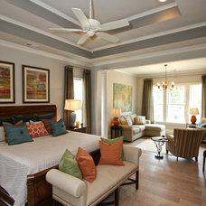 Craftsman Bedroom by Dunbar Builders