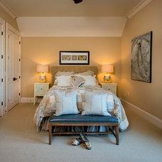 Craftsman Bedroom by SH Designs Inc