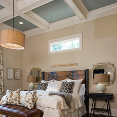 Craftsman Bedroom by SH Designs Inc