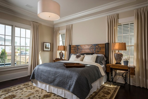 Traditional Bedroom by Southern Traditions Window Fashions